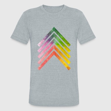 Rainbow Arrow - Unisex Tri-Blend T-Shirt