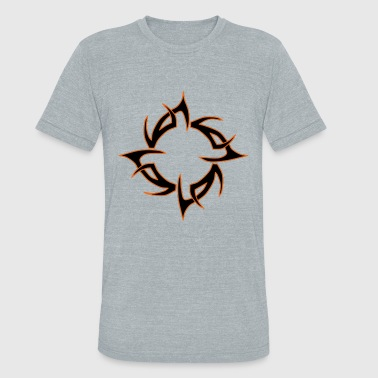 Tribal Design - Unisex Tri-Blend T-Shirt