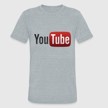Youtube Video YouTube - Unisex Tri-Blend T-Shirt