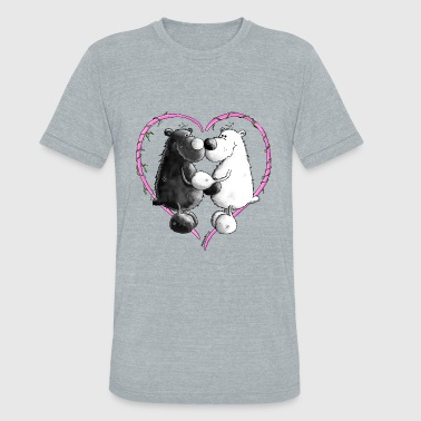 Love Bears - Bear - Teddy - Unisex Tri-Blend T-Shirt