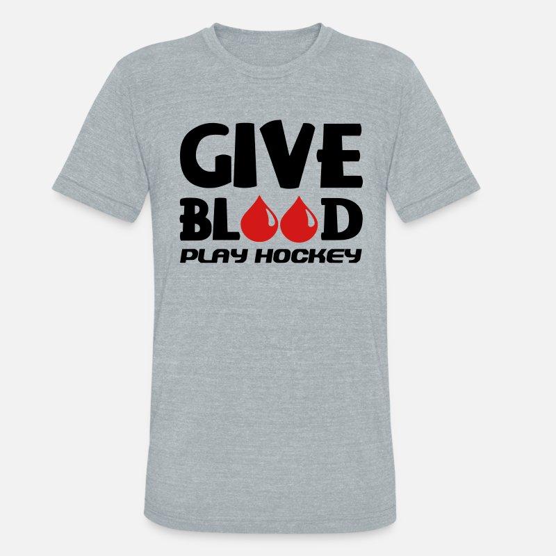 bddf1460a Unisex Tri-Blend T-ShirtGive Blood