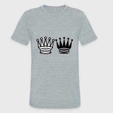 King and Queen - Unisex Tri-Blend T-Shirt