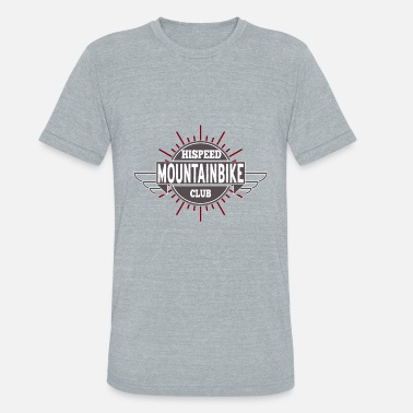 Bike Club Mountain Bike Hispeed Club - Unisex Tri-Blend T-Shirt