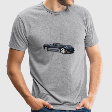 CHEVROLET CORVETTE STINGRAY CONVERTIBLE - Unisex Tri-Blend T-Shirt