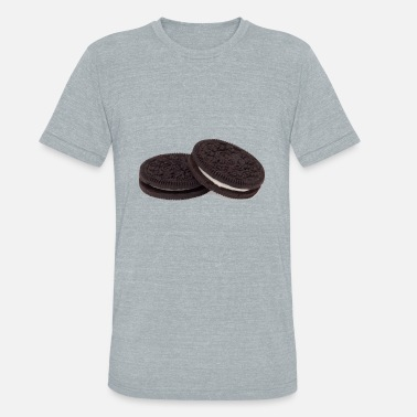 Cookie Oreo biscuits - Unisex Tri-Blend T-Shirt