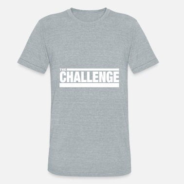Mtv MTV The Challenge Logo - Unisex Tri-Blend T-Shirt