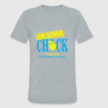 03 law school chick - Unisex Tri-Blend T-Shirt
