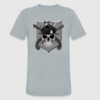 MP Skull - Unisex Tri-Blend T-Shirt