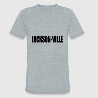 The Ville JACKSON VILLE - Unisex Tri-Blend T-Shirt