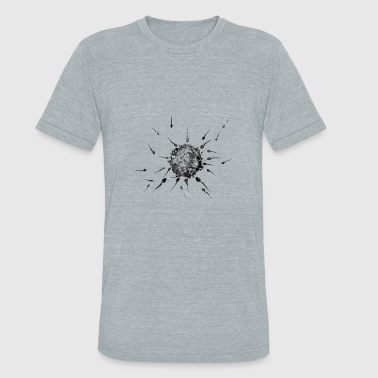 Sperms and Egg - Unisex Tri-Blend T-Shirt