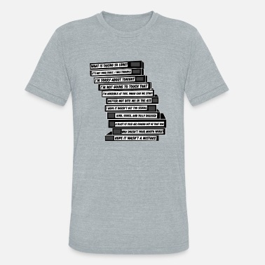 Brooklyn-nine-nine Brooklyn Nine-Nine. Tapes. - Unisex Tri-Blend T-Shirt