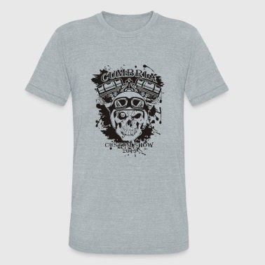 Cumbria cumbria custom bike show - Unisex Tri-Blend T-Shirt