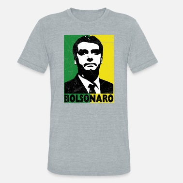 f02c2ee101 Jair bolsonaro presidente brasil unisex tri blend shirt jpg 378x378  Bolsonaro presidente 2018 tee shirt