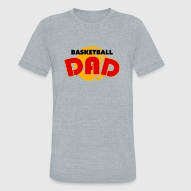 Basketball dad - basketball dad - Unisex Tri-Blend T-Shirt