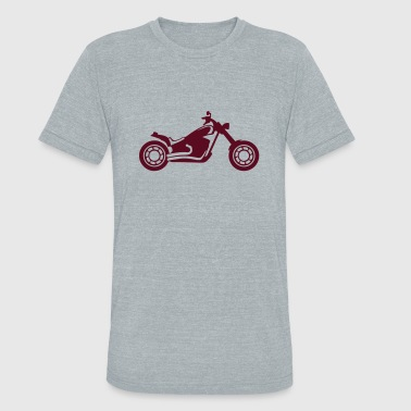 motocross motorcycle tourism 1112 - Unisex Tri-Blend T-Shirt