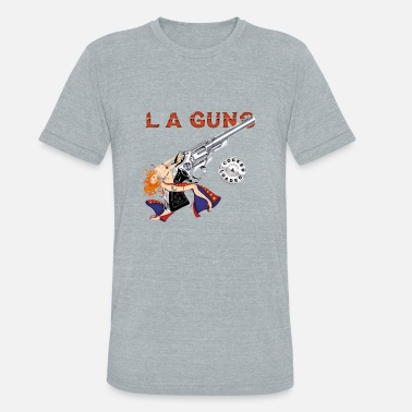 La Guns LA Guns Cocked - Unisex Tri-Blend T-Shirt