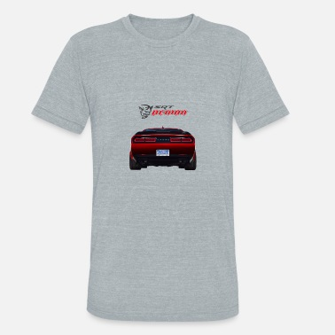 Dodge Demon DODGE DEMON CAR - Unisex Tri-Blend T-Shirt