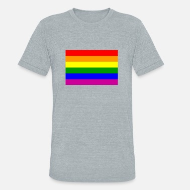 Flag Communism Gay/Homosexual Flag - Unisex Tri-Blend T-Shirt