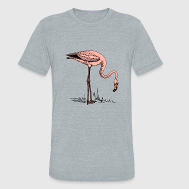 Flamingo Bird Bird Flamingo - Unisex Tri-Blend T-Shirt