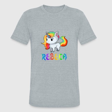 Rebeca Unicorn - Unisex Tri-Blend T-Shirt