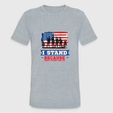 Veterans Day - Unisex Tri-Blend T-Shirt