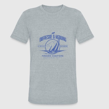 Dufresne and Redding Fishing Charters - Unisex Tri-Blend T-Shirt