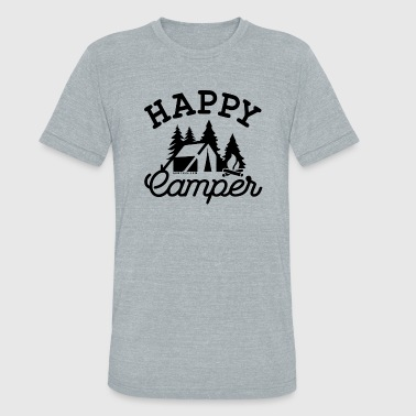 Happy-Camper - Unisex Tri-Blend T-Shirt