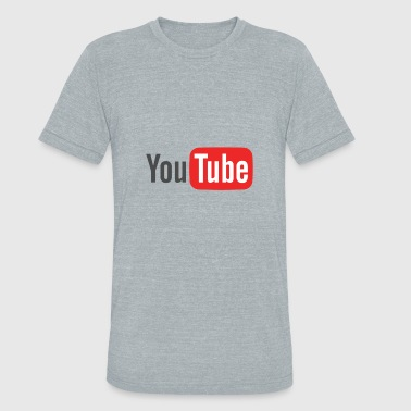 The Youtube Merch - Unisex Tri-Blend T-Shirt