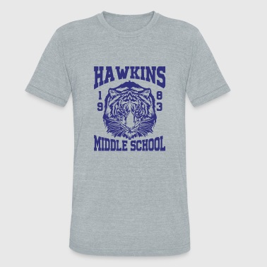 Trending Hawkins Middle School 1983 Tiger - Unisex Tri-Blend T-Shirt