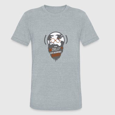 World's Best Bearded Daddy - Unisex Tri-Blend T-Shirt