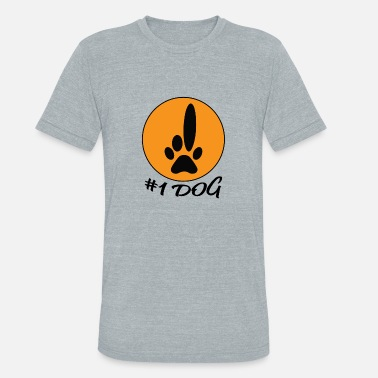 One Love Animal Rescue Number One Dog Animal Lover Best Friend Dogs - Unisex Tri-Blend T-Shirt