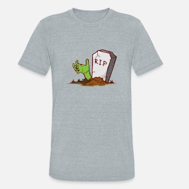 Rest In Peace To Rest In Peace - Unisex Tri-Blend T-Shirt