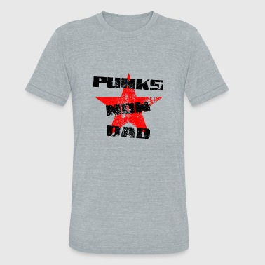 Punk Is Dad Punks now dad - Unisex Tri-Blend T-Shirt