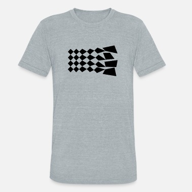 Shapes Abstract Abstract shapes - Unisex Tri-Blend T-Shirt