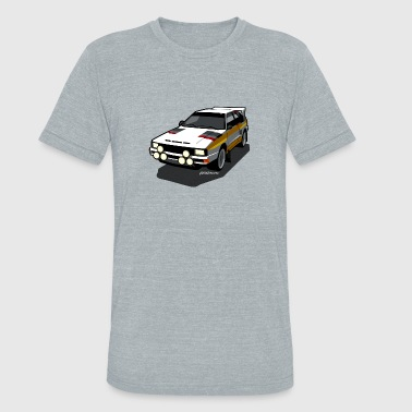 Audi Sport Rally Ur-Quattro Group B - Unisex Tri-Blend T-Shirt