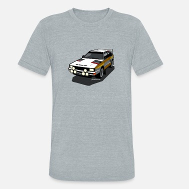 Rally Group B Audi Sport Rally Ur-Quattro Group B - Unisex Tri-Blend T-Shirt