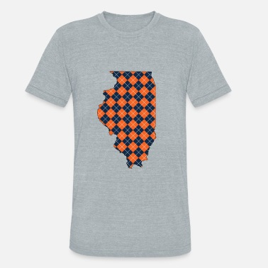 Argyle illinois.png - Unisex Tri-Blend T-Shirt