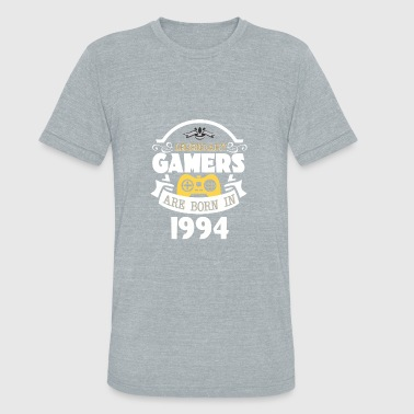 Legendary Gamers Are Born In 1994 - Unisex Tri-Blend T-Shirt