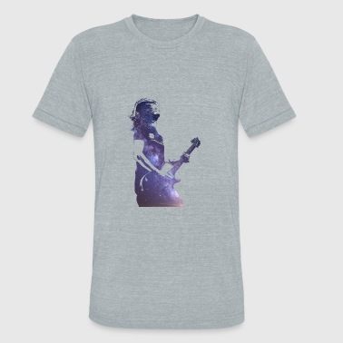 Prog Rock Steven Rocking In Space - Unisex Tri-Blend T-Shirt
