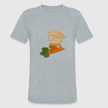 rabbit - Unisex Tri-Blend T-Shirt