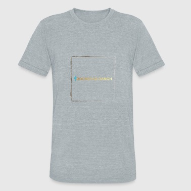 Rockstar Ranch Teal and Gold Gradient - Unisex Tri-Blend T-Shirt