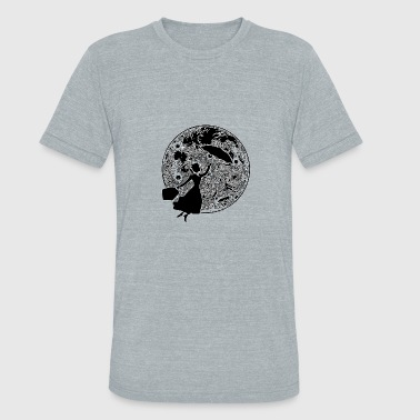 Yondu Mary Poppins FULL MOON - Unisex Tri-Blend T-Shirt