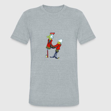Jacked Card Game Sexy Funny Card Character Drawing Jack Ass - Unisex Tri-Blend T-Shirt