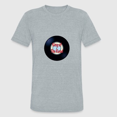 Song Oldies King of The Road Oldies Song Titles Record Album - Unisex Tri-Blend T-Shirt