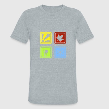 There Are Four Seasons Four Seasons - Unisex Tri-Blend T-Shirt