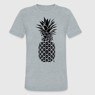 AD Geometric Pineapple - Unisex Tri-Blend T-Shirt