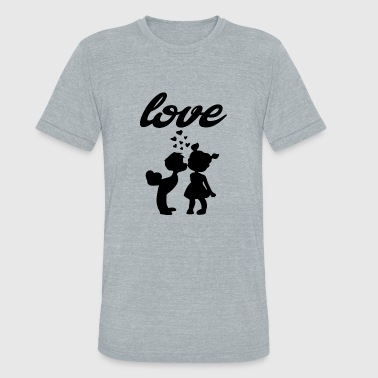 Xxx Fun love xxx - Unisex Tri-Blend T-Shirt