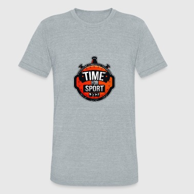 Time For Sport - Unisex Tri-Blend T-Shirt