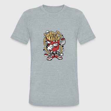 Fries Kids French Fries - Unisex Tri-Blend T-Shirt