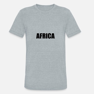 South Africa AFRICA - Unisex Tri-Blend T-Shirt